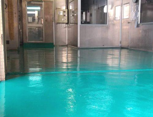烏日啤酒廠房環氧樹脂工程
