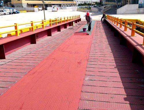 南竿碼頭車道工程