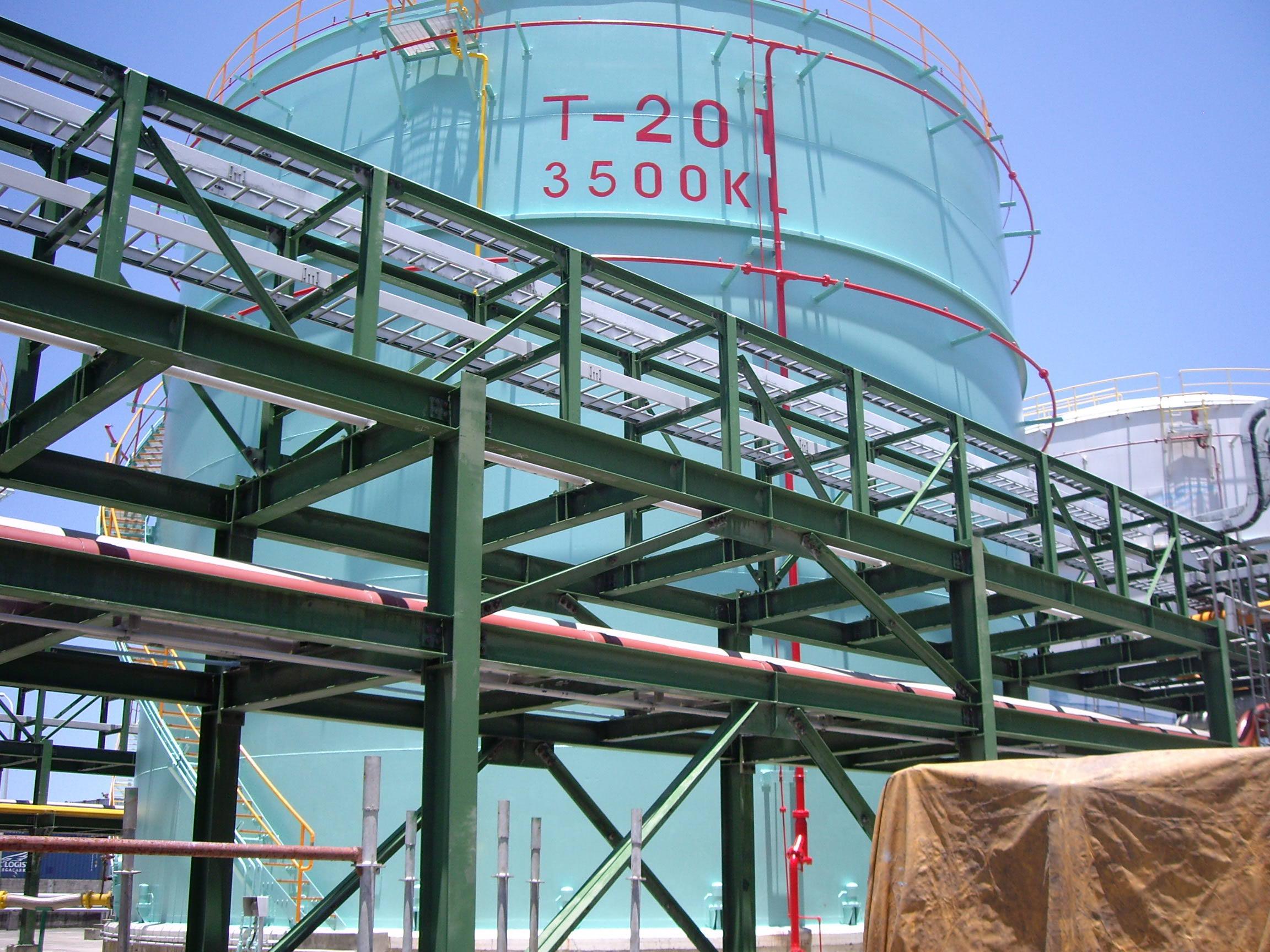 中油油槽塗裝工程